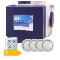 1180038 Itho Daalderop alles-in-1 ventilatiepakket CVE/RFT/4xKLV125 en VK1500E