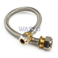 165703Comfort Line rvs flexibele slang 15 x 10 mm knel, lengte 35 cm KIWA