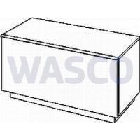 21430046Sphinx iCon zijkast vloerstaand 89 cm 1 lade wit hoogglans greep chroom