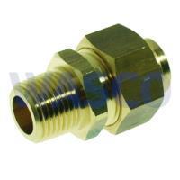 """2651730VSH Messing soldeer 3-delige koppeling 3/4"""" x 22mm buitendraad x soldeer"""