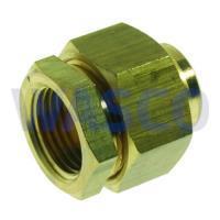 """2651760VSH Messing soldeer 3-delige koppeling 3/4"""" x 22mm binnendraad x soldeer"""