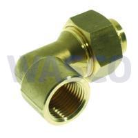 """2651810VSH Messing soldeer 3-delige koppeling 1/2"""" x 15mm binnendraad x soldeer"""