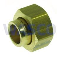 """2652060VSH Messing soldeer 2-delige koppeling 3/4"""" x 15mm binnendraad x soldeer"""