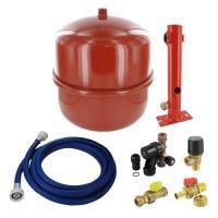 3299005 Comfort Line basic ketelaansluitset rood 18 liter 0,5 bar