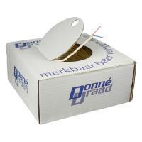 3720020Dynamic thermostaatkabel 2x0,6mm wit rol 100m