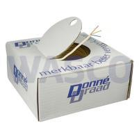 3720060Donne thermostaatkabel 3x0,8mm wit rol 100m