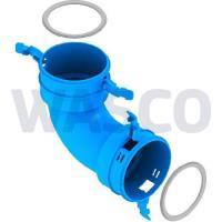 3741437Burgerhout Hybalans+ bochtstuk 90° 75mm kunststof blauw