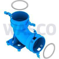 3741438Burgerhout Hybalans+ bochtstuk 90° 75mm kunststof blauw