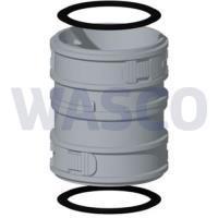 3810227Burgerhout koppelstuk 60 mm Flex PP