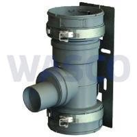 3810381Burgerhout t-stuk 100 mm Flex PP