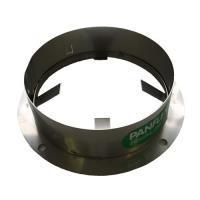4222612Panflex INOX QA dakplaat rond Ø50 mm klein RVS