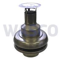 4222899Panflex INOX grespotkap Ø50 mm RVS