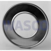 4251180Burgerhout aluminium rozet 80mm