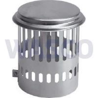 4550550Burgerhout kraaienkap Ø150 mm gegalvaniseerd
