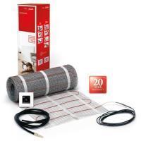 4940400Danfoss EFTI 150/1 elektrische vloerverwarmingsset 1m2 150 Watt inclusief ECtemp Touch thermostaat