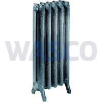 5260027 Drl Decorato kolomradiator 2 koloms met 10 leden l=801mm h=760mm Old Grey 1180 Watt