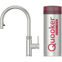 58779071 Quooker Flex kokend water keukenmengkraan met uittrekslang rvs inclusief PRO3 reservoir