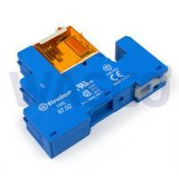 8743425Nibe steekrelais tbv VCC klep 230V incl. voet voor DIN RAIL