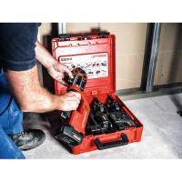 A8502050Rothenberger ROMAX® Compact TT persmachineset + U16-20-25 mm persbekken compleet in ROCASE koffer