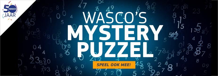 Wasco 50 jaar - Mystery Puzzel